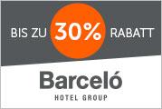 5% Cashback bei Barcelo Hotels bis 27.01.2019