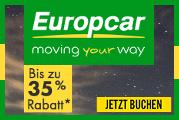 6,5% Cashback bei Europcar bis 27.01.2019