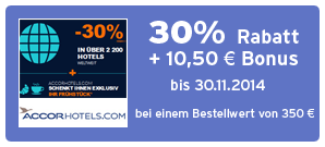Bonus bei Accorhotels