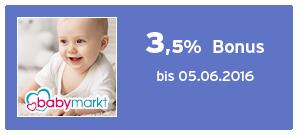 Bonus bei baby-markt
