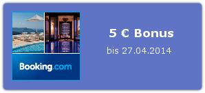 Bonus bei Booking.com