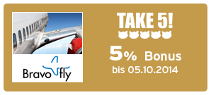 Bonus bei Bravofly