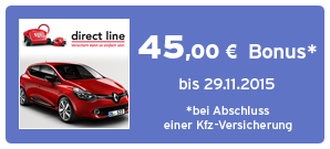 Bonus bei Direct Line