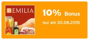 Bonus bei EMILIA.de