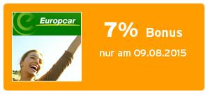 Bonus bei Europcar