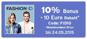 Bonus bei Fashion ID