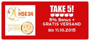 Bonus bei HSE24