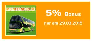 Bonus bei MeinFernbus.de