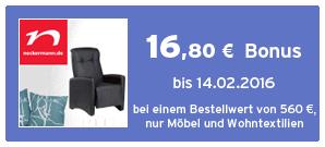 Bonus bei Neckermann