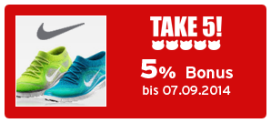 Bonus bei Nike