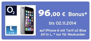 Bonus bei o2-Online