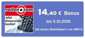 Bonus bei reifen.com