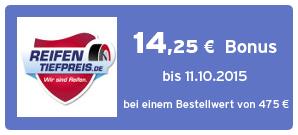 Bonus bei Reifentiefpreis.de