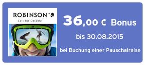 Bonus bei ROBINSON