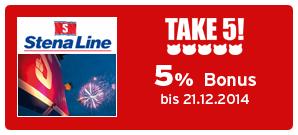 Bonus bei Stena Line