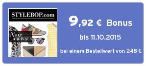 Bonus bei Stylebop.com
