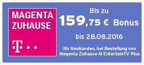Bonus bei Telekom Zuhause