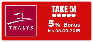 Bonus bei Thalys