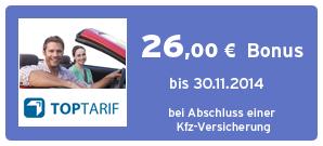 Bonus bei TopTarif.de