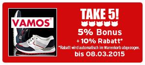 Bonus Vamos-Schuhe
