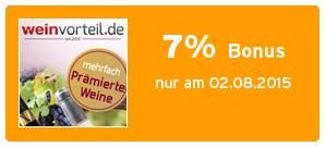 Bonus bei Weinvorteil.de