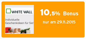 Bonus bei WhiteWall