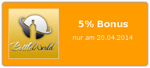 Bonus bei Bottle World