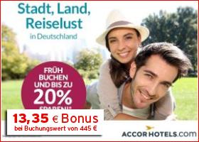 Bonus bei Accorhotels