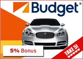 Bonus bei Budget Autovermietung