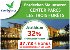 Bonus bei Center Parcs