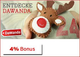 Bonus bei Dawanda