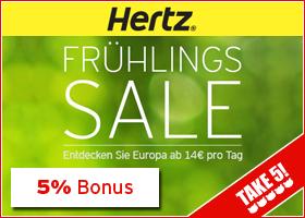Bonus bei Hertz