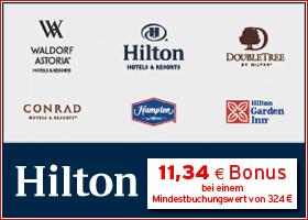Bonus bei Hilton