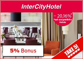 Bonus bei InterCityHotel