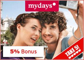 Bonus bei mydays