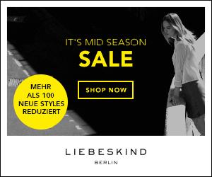 MID SEASON SALE - 25% Rabatt bei Liebeskind!!!