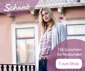 Schwab: 15€ Gutschein auf Mode & Wohnen für Neukunden