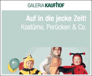 Auf in die jecke Zeit - Karnevalskostüme, Perücken & Co. mit bis zu 70% Rabatt!