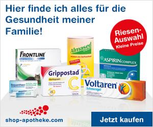 10% Rabatt für Shop-Apotheke - Neukunden!