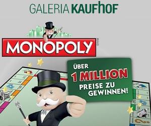 Monopoly-Gewinnspiel - jetzt spielen und tolle Preise gewinnen!