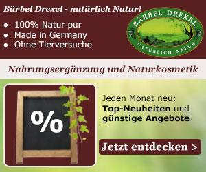 11% Frühlings-Rabatt auf das gesamte Sortiment von Bärbel Drexel