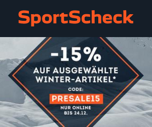 Presale bei Sportscheck: Zusätzlich 15% Rabatt auf Winter-Artikel