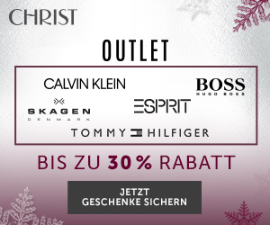Outlet-Shopping bei CHRIST