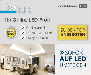 SUPER SALE bei isolicht mit bis zu 80% Rabatt auf hochwertige LED-Leuchten!