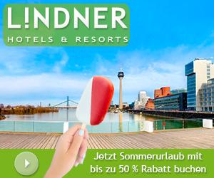 Bis zu 50% Sommerrabatt bei Lindner Hotels & Resorts