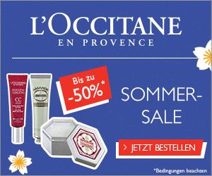 SOMMER-SALE bei L'OCCITANE EN PROVENCE!