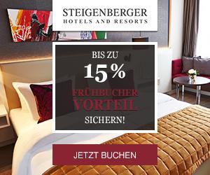 Frühbucher-Vorteil bei Steigenberger Hotels