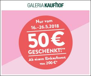 50 Euro Gutschein bei Galeria Kaufhof