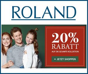 20% Rabatt auf alles im ROLAND Online Shop