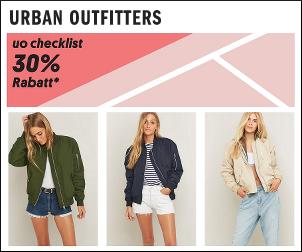 Deine Urban Outfitters Checkliste zum Schul-/ Unistart!